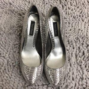 Silver WHBM Heels